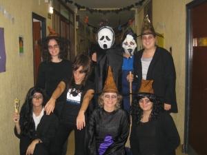 Profesores Halloween