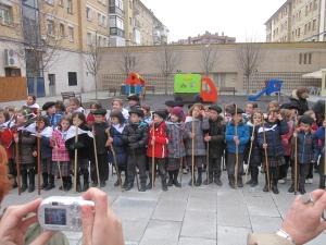 Celebración Santa Águeda barrio